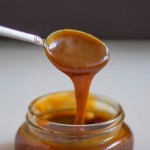 easy caramel sauce dip brown sugar dessert
