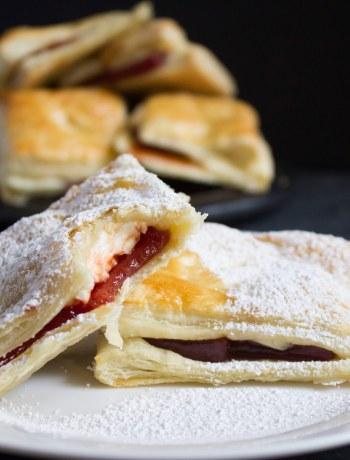 Guava pastries, pastelitos, guayaba, cuban, dessert, pastries, easy,