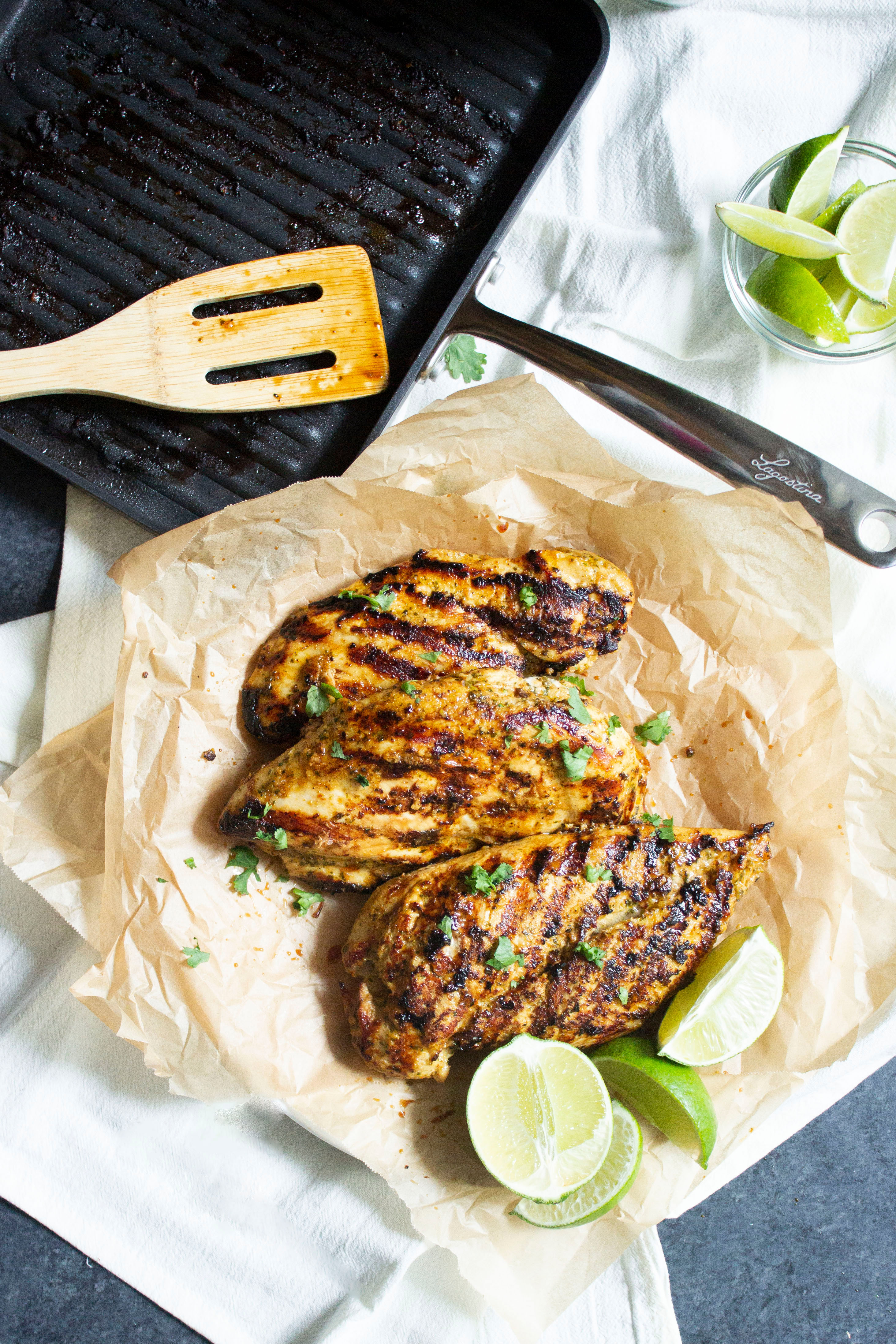 Mexican Grilled Chicken Coco And Ash