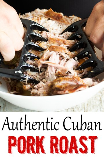 Authentic Cuban Pork, Cuban pork roast, cuban pork, pernil, cuban pork shoulder, pork butt,