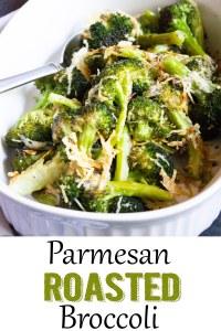 Parmesan Roasted Broccoli, roasted broccoli, broccoli, vegetables, side dish, coco and ash