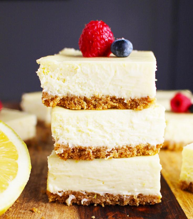 lemon cheesecake bars, cheesecake bars, coco and ash, lemon bars, lemon dessert