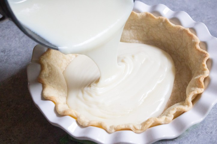 Sugar cream pie, custard pie, tillamook, pie, dessert, coco and ash, easy pie, holiday dessert.