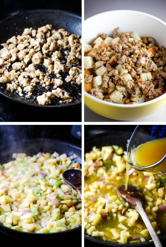 Sausage and apple stuffing, apple stuffing, thanksgiving, side dish, apple stuffing, sausage stuffing,