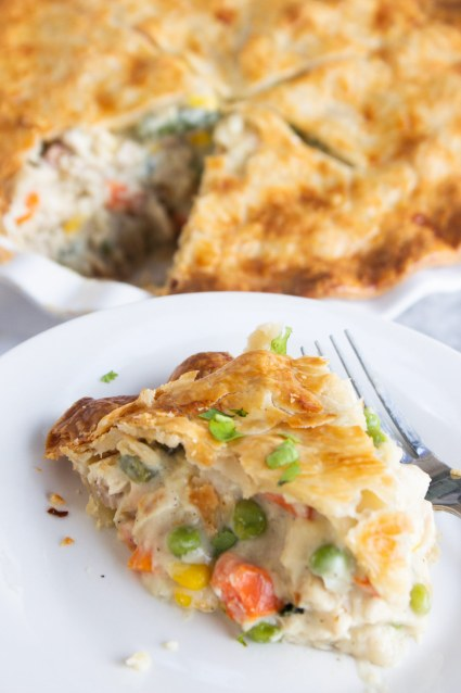 Chicken pot pie, easy chicken pot pie, easy pot pie, dinner, meal, coco and ash
