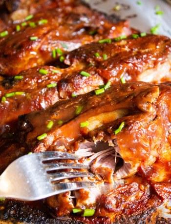 pork brine, country pork ribs, moist country pork ribs, slow cooker country ribs. slow cooker country pork ribs