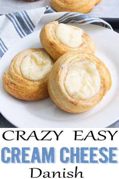 Cream cheese crescent roll danish, coco and ash, easy