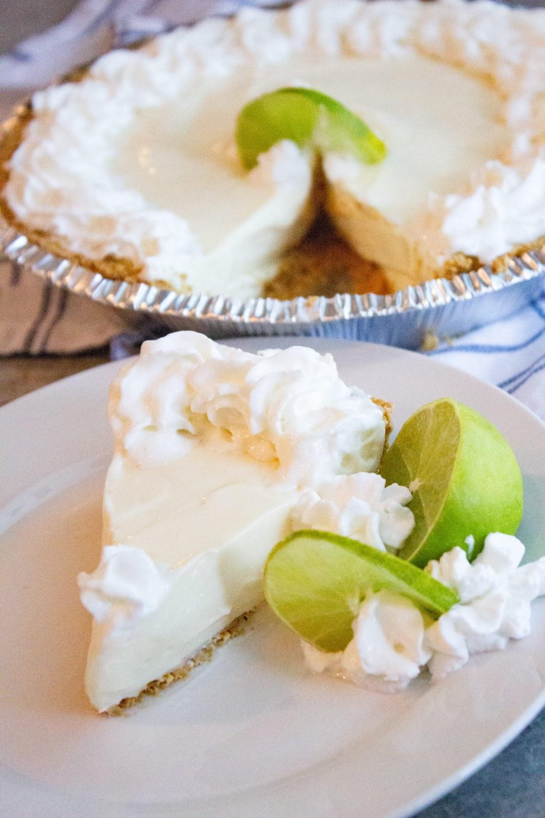No bake key lime pie, easy key lime pie, homemade, pie, easy, coco and ash