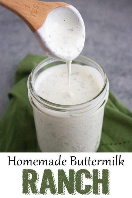 Homemade Buttermilk Ranch