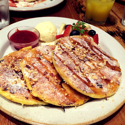 Strawberry Banana French pancake