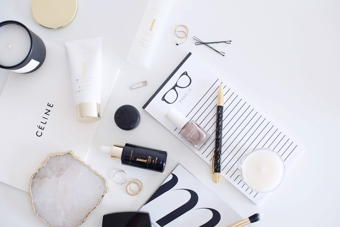 The Beautycounter brightening spa set, as captured by Winnipeg beauty blogger Cee Fardoe of Coco & Vera