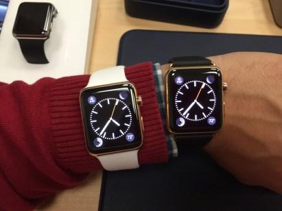 Golden Apple Watches