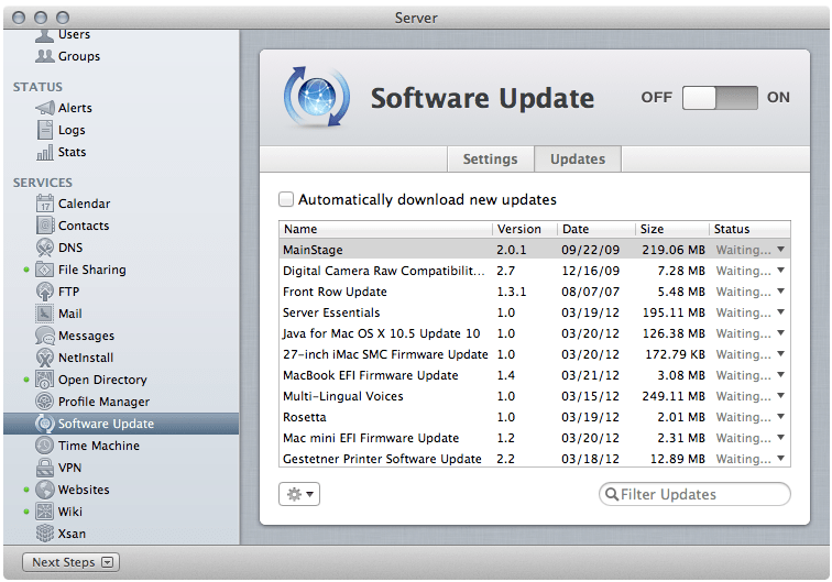 New os x update for mac 2016