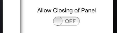 Prevent Closing