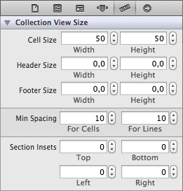 UICollectionView Cell Defaults