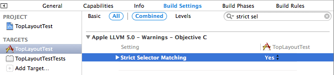 Enable Strict Selector Matching