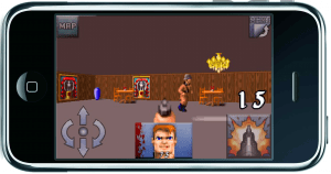 Wolfenstein 3D on iPhone
