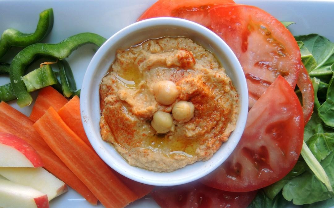 Hummus casero auténtico en 5 minutos
