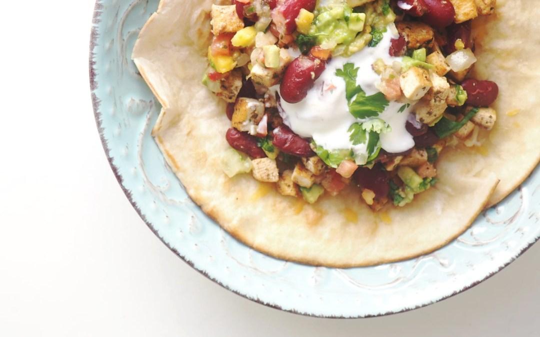 Burrito vegetariano orgásmico y saludable