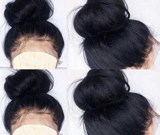 Jacky Brazilian Virgin Pre Plucked Italian Yaki Full Lace Wig