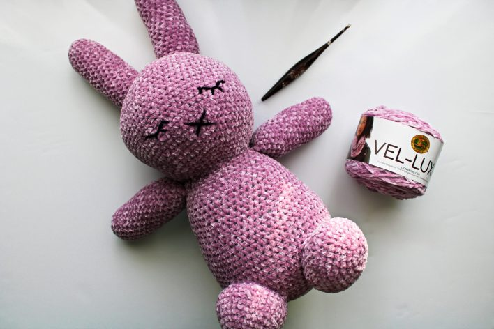 Sleepy Mallow Bunny free crochet pattern coco crochet lee