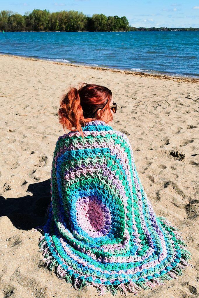 Juniper Circle Blanket - Free Crochet Pattern - CoCo Crochet Lee