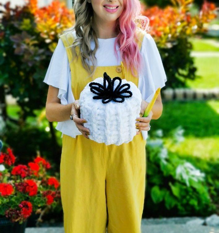 1-Hour Pumpkin, free crochet pattern, CoCo Crochet Lee