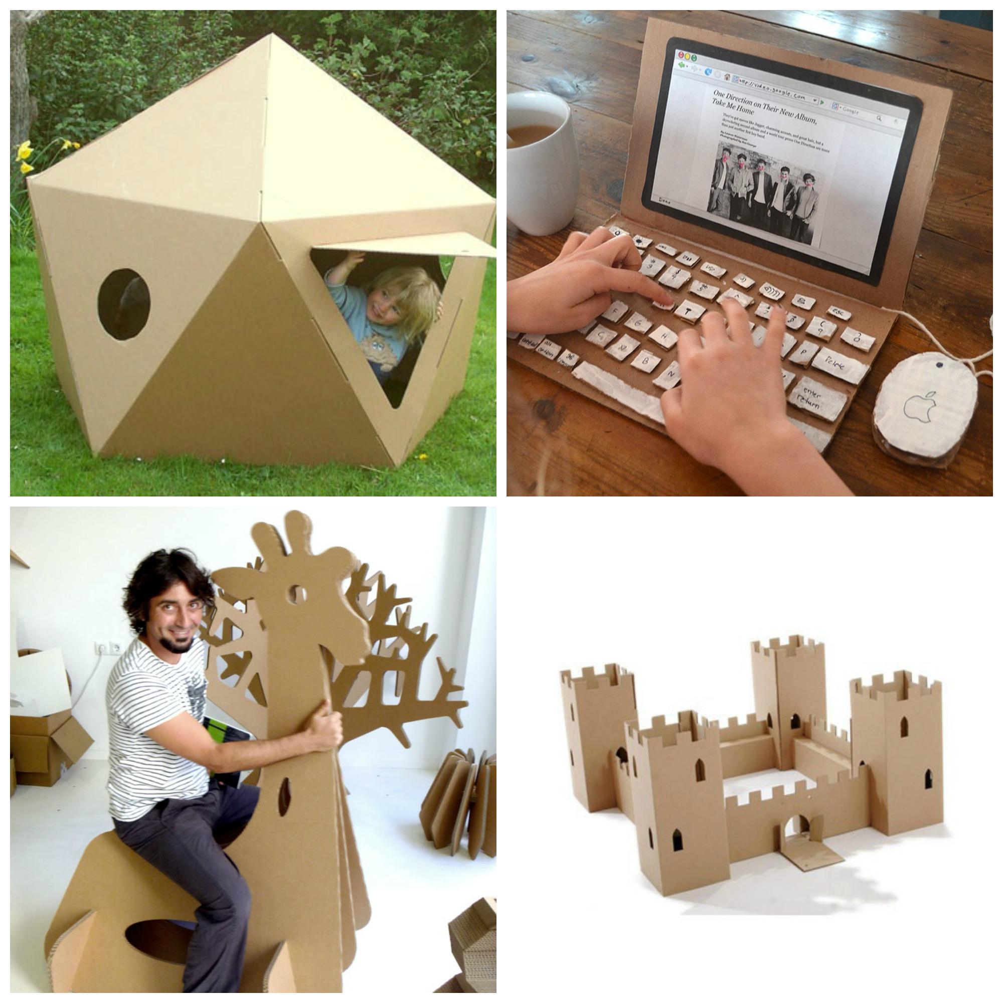 Recycler Les Cartons De Jouets De Nol Cocon Dco