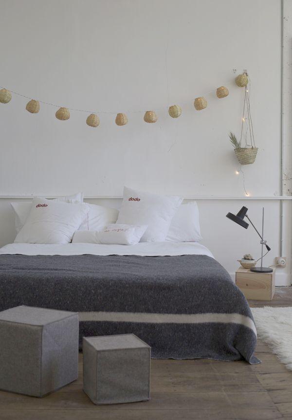 Deco Gris Et Blanc Chambre