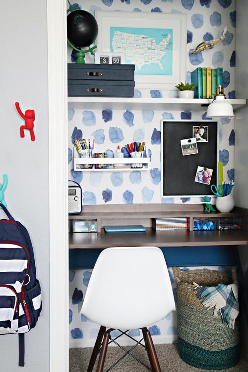 Inspiration Dco Du Papier Peint Pour Un Bureau Cratif