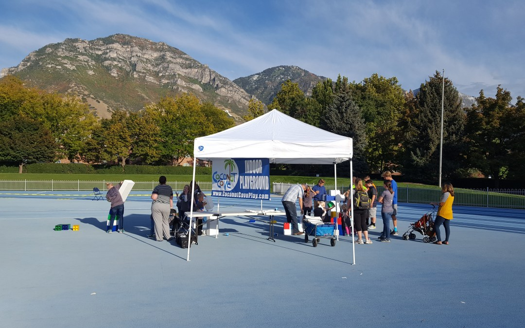 Coconut Cove at BYU Courageous Kids Event