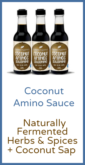 Coconut Amino Sauce Naturally Fermented