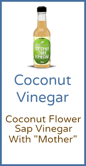 Coconut Vinegar 250ml Jars