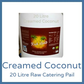 Coconut Butter (Creamed Coconut) 4L Rich Gold - 20L