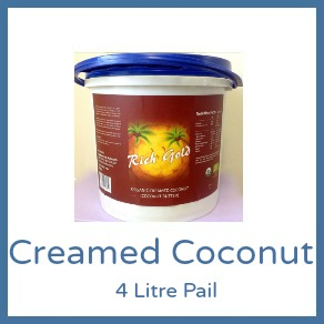 Coconut Butter (Creamed Coconut) 4L Rich Gold - 4L