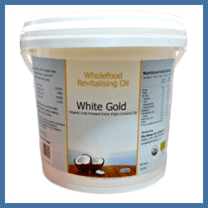 Cold Pressed Range - 4L Plastic Tub White Gold
