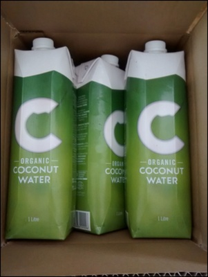 C Coconut Water 1 Litre Organic Fresh Young - King Coconut