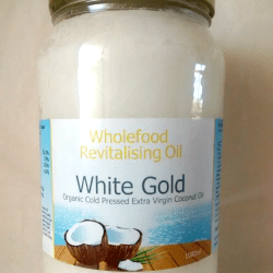 White Gold 1 Litre Jars