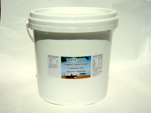 White Gold 20 Litres | CoconutOilShop.co.nz