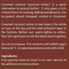 Creamed-Coconut Instructions