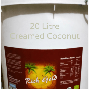 Creamed Coconut 20 Litre Rich Gold