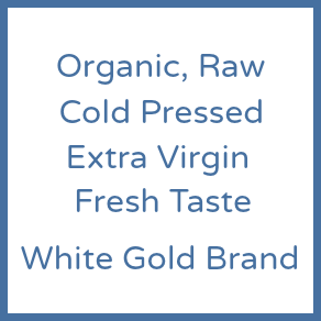 Oil | Organic Cold Pressed, Extra Virgin, White Gold Coconut Oil