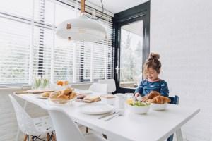 keukentafel bungalow Bosbries