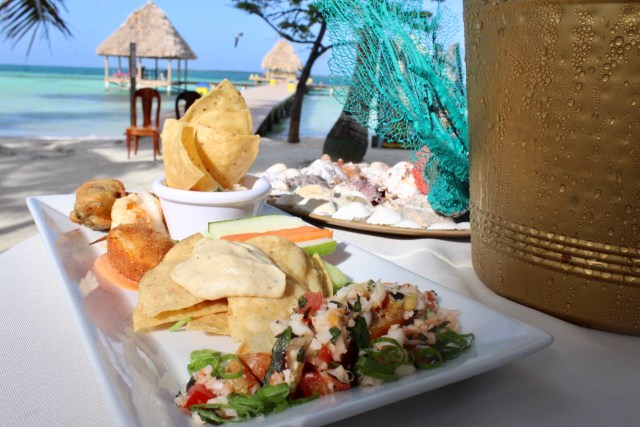 Lobster delicacies at Coco Plum Island Resort