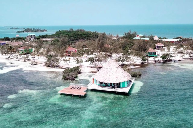 All Inclusive Over-The-Water Bungalow In Belize
