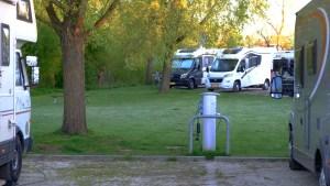 Wohnmobilstellplatz Göttingen - Stromsäulen