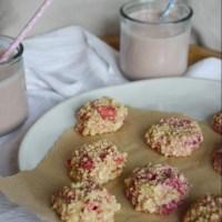 No-Bake Strawberry Vanilla Cashew Cookies