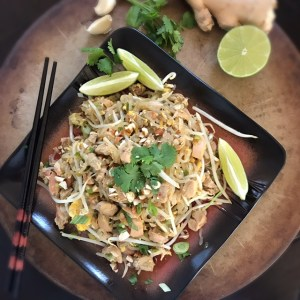 Chicken pad thai using miracle noodles cocos paleo kitchen if youre going to make something that typically uses noodles in the recipe what do you use in place of or do you just go for it and get forumfinder Gallery