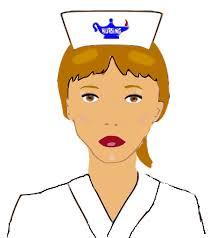 graphic image of a nurse