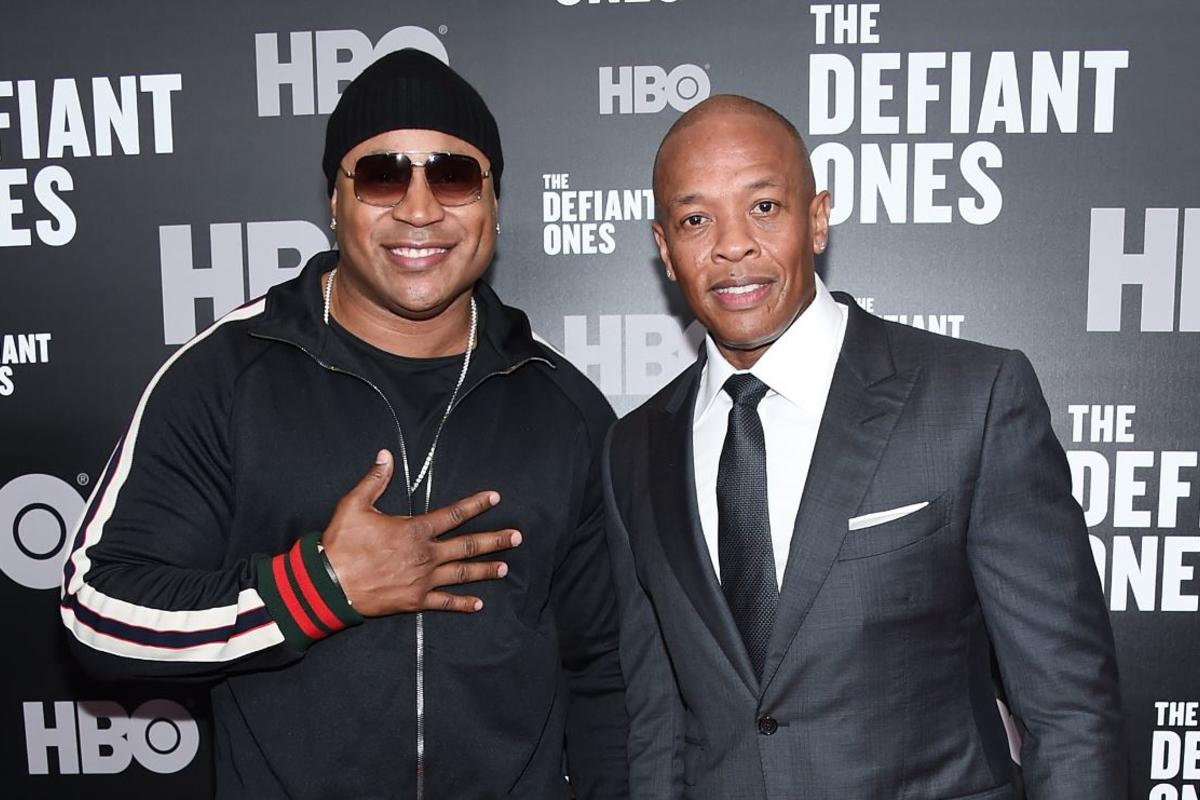 Dr Dre Amp Ll Cool J Have Recorded More Than 40 Songs